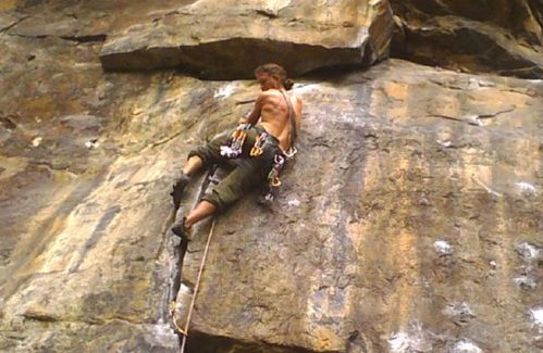 Rock Climbing in Shivapuri hill