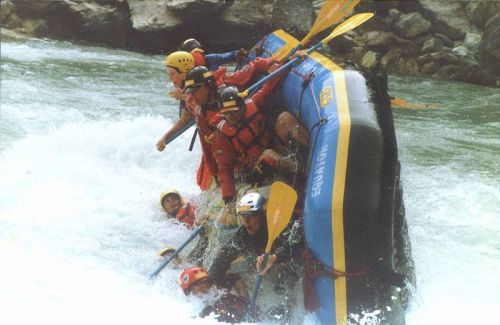 The Kali Gandaki River Rafting