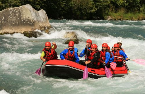 Upper Sunkoshi River Rafting