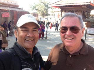 """Wonderful walking tour of the bustling Kathmandu with Shiva!"""